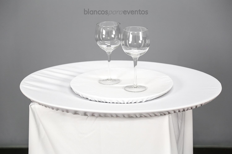 BLANCOS PARA EVENTOS - CUBRE CHAROLA Y CABRILLA
