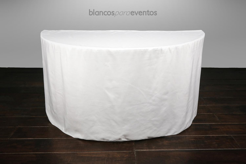 BLANCOS PARA EVENTOS - MEDIA LUNA LISA