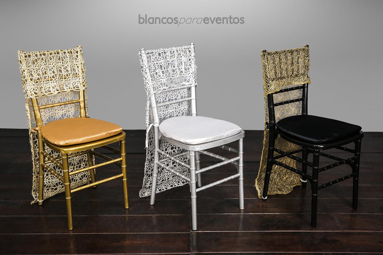 BLANCOS PARA EVENTOS - CUBRESILLA PALACE
